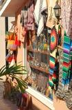Mexicaanse goederen op vertoning voor verkoop III Royalty-vrije Stock Foto's