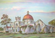 Mexicaanse Hacienda op Puebla Stock Fotografie
