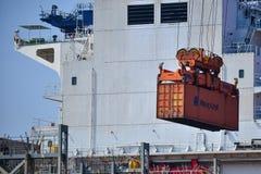 Mexicaanse haven van Veracruz Stock Foto's