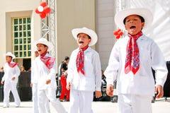 Mexicaanse jongens Royalty-vrije Stock Afbeeldingen
