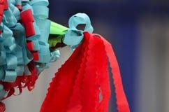 Mexicaanse kleurrijke piñata Stock Foto's
