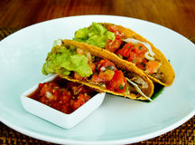 Mexicaanse lunch royalty-vrije stock fotografie