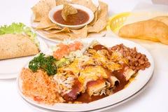 Mexicaanse maaltijd Royalty-vrije Stock Foto