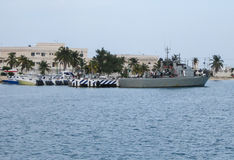Mexicaanse Marine Royalty-vrije Stock Afbeelding