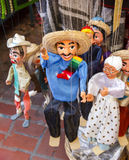 Mexicaanse Marionnettes stock foto's