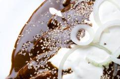 Mexicaanse molenchiladas royalty-vrije stock afbeeldingen