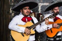 Mexicaanse musicimariachi in de studio royalty-vrije stock foto