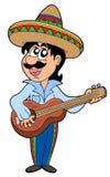 Mexicaanse musicus royalty-vrije illustratie