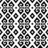 Mexicaanse naadloze achtergrond vector illustratie