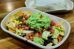 Mexicaanse nachos Stock Afbeeldingen
