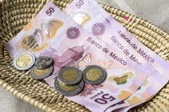 Mexicaanse peso Royalty-vrije Stock Foto