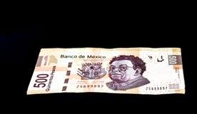 Mexicaanse 500 Peso's Stock Afbeeldingen