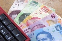 Mexicaanse peso's Royalty-vrije Stock Fotografie