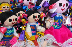 Mexicaanse poppen royalty-vrije stock afbeelding