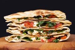 Mexicaanse quesadillas royalty-vrije stock fotografie