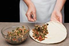 Mexicaanse quesadillas stock afbeeldingen