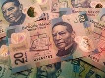 Mexicaanse rekeningen Royalty-vrije Stock Foto