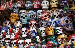 Mexicaanse schedel royalty-vrije stock afbeelding