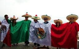 Mexicaanse toerist bij de Sugarloaf-berg Stock Fotografie