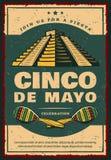 Mexicaanse vakantiebanner voor Cinco de Mayo-partij