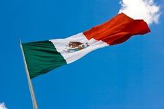 Mexicaanse vlag 2 royalty-vrije stock afbeelding
