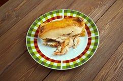 Mexicaanse voedselenchiladas Royalty-vrije Stock Afbeelding