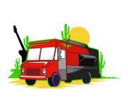Mexicaanse voedselvrachtwagen Royalty-vrije Stock Foto's