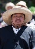Mexicain avec le sombrero photo libre de droits