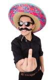 Mexicain drôle Image libre de droits