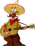 Mexican. On a white background, vector Royalty Free Stock Photos