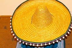Mexican. Sleeping with a sombrero Royalty Free Stock Photos
