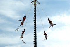 Mexican acrobats. Stock Photos