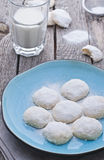 Mexican almond cookies Royalty Free Stock Photos