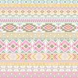 Mexican american indian pattern tribal ethnic motifs geometric vector background. Bohemian native american tribal motifs textile print ethnic traditional stock illustration