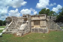 Mexican ancient ruins Stock Images