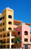 Mexican architecture. Shot from cabo san lucas Royalty Free Stock Photo