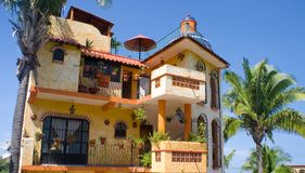 Mexican Architecture Royalty Free Stock Image