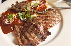 Mexican arrachera steak Stock Photography