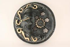 Mexican Art Sun & Moon. An image of Mexican Art Sun & Moon stock photo