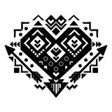 Mexican and Aztec tribal ornament. Vector stock photos