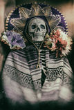 Mexican Bandit Skeleton Royalty Free Stock Photography