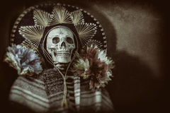 Mexican Bandit Skeleton Stock Photos