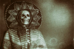 Mexican Bandit Skeleton Royalty Free Stock Images