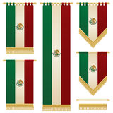 Mexican banners Royalty Free Stock Image
