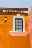 Mexican Bar Building Royalty Free Stock Photos
