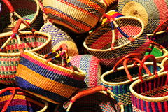 Mexican Baskets Royalty Free Stock Photo