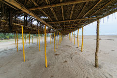 Mexican Beach Palapa Royalty Free Stock Images