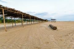 Mexican Beach Palapa Royalty Free Stock Photo
