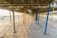 Mexican Beach Palapa Stock Photos