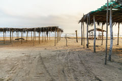 Mexican Beach Palapa royalty free stock photos
